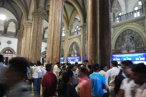 Suburban Booking Office, Chhatrapati Shivaji Terminus. (Photo credit: Ting Chen)