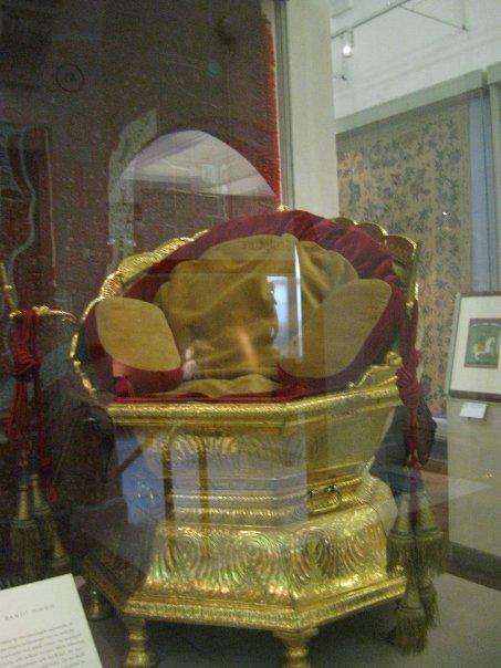 Museum Treasure The Golden Throne Of Maharaja Ranjit