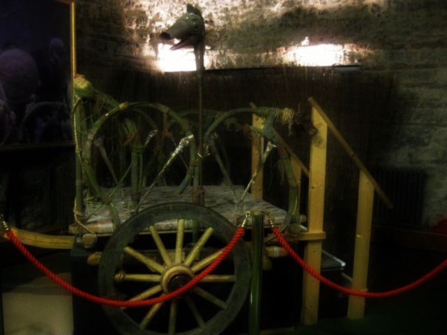 Replica of Boudica's chariot