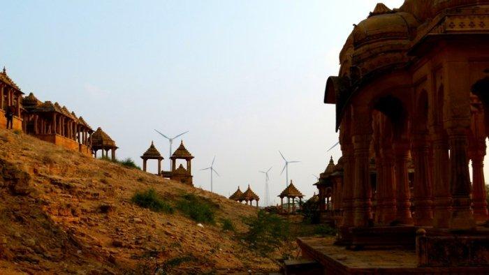 Royal Hindu Cenotaphs, Rajasthan, Jaisalmer, Bada Bagh