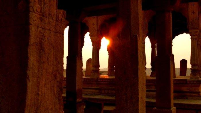Hindu Cenotaphs, Rajasthan, Jaisalmer, Vyas Chhatri, Brahmin Crematorium