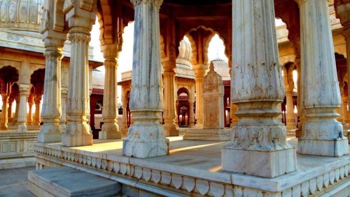 Hindu cenotaphs, Rajastha, Bikaner