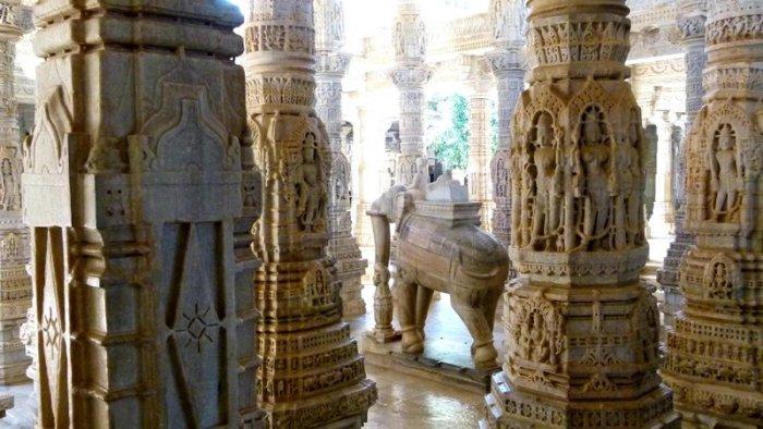 Ranakpur Jain Temple, Ranakpur, Rajasthan, TRavel