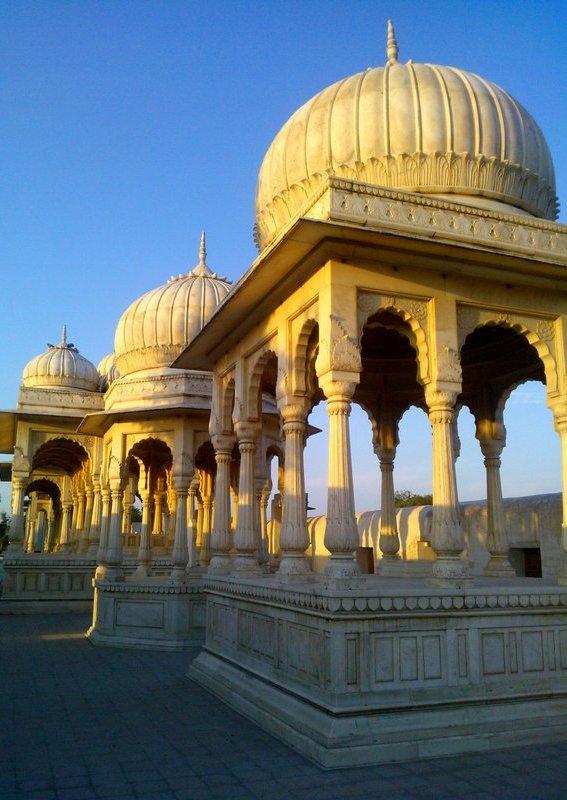 Cenotaphs, chattris, Rajasthan, Hindu