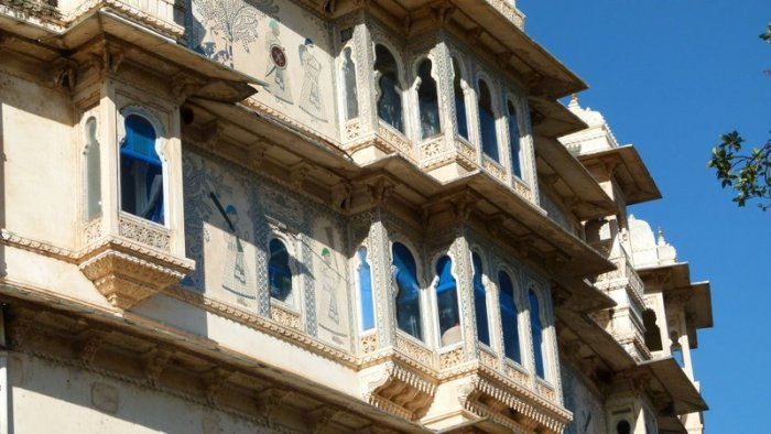 City Palace, Udaipur, Rajasthan, Travel