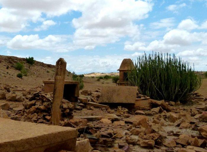Jaisalmer, Old Crematorium, Sati site