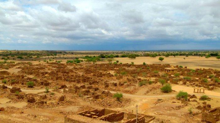 Jaisalmer, Khaba Fort, Khaba Village