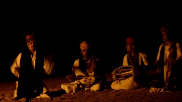 Langha folk artistes, Kahnoi sand dunes, Jaisalmer, Suryagarh