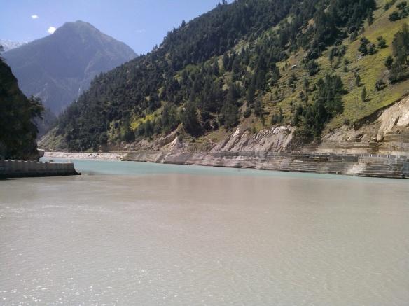 Baspa, Sutlej, river confluence, Kinnaur,