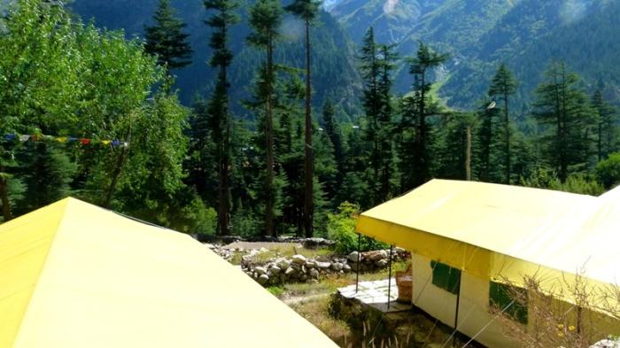 Himachal Pradesh, Kinner Camps, Sangla