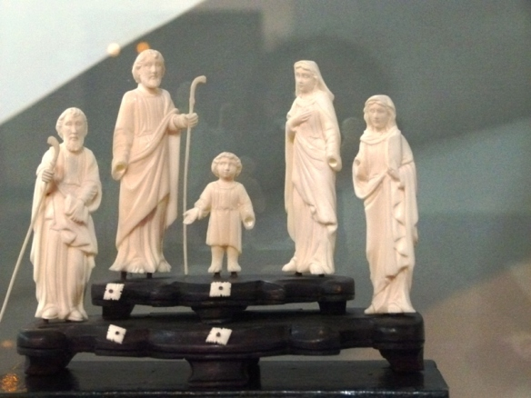 The Holy Family, Ivory, Jesus, Mary and Joseph