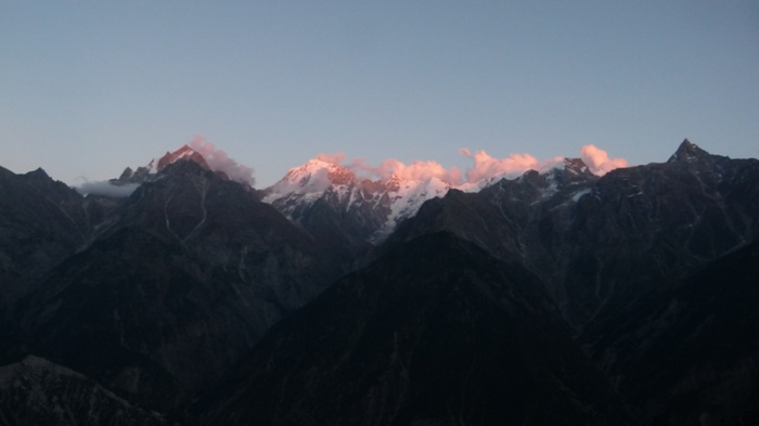 Kinner Kailash, Sunset, Kalpa, Himachal Pradesh, The Grand Shanri-La