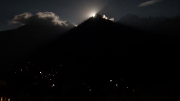 Kinner Kailash, Moonrise, Kalpa, Himachal Pradesh, The Grand Shangri-La
