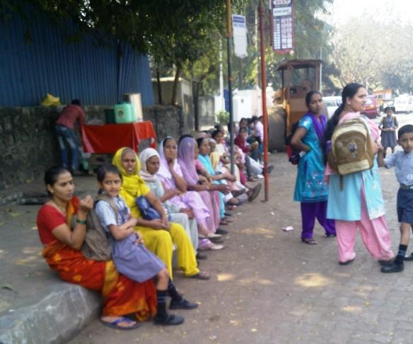 Mumbai, Bus Stop