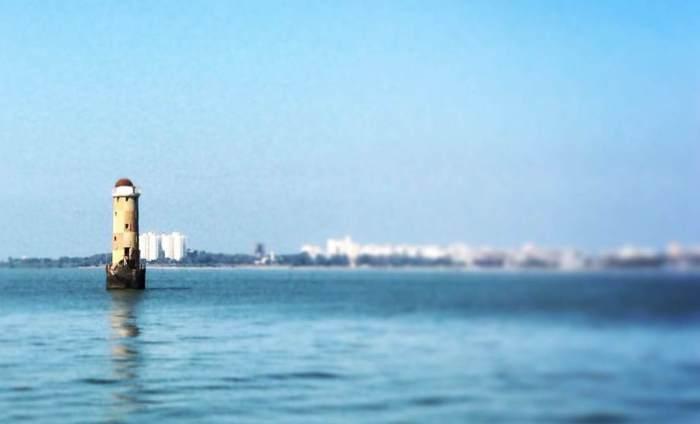 Mumbai Port and Harbour Tour, KGAF, Mumbai Port Trust, Sunk Rock Lighthouse