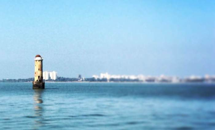 Mumbai Port and Harbour Tour, KGAF, Mumbai Port Trust, Sunk Rock Lighthouse