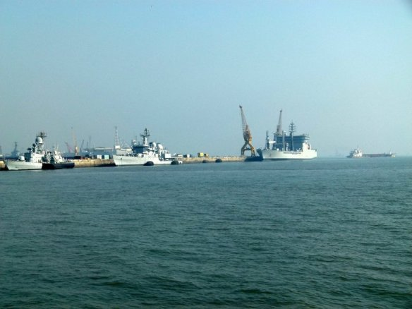 Mumbai Port and Harbour Tour, KGAF, Mumbai Harbour, Naval Dockyard