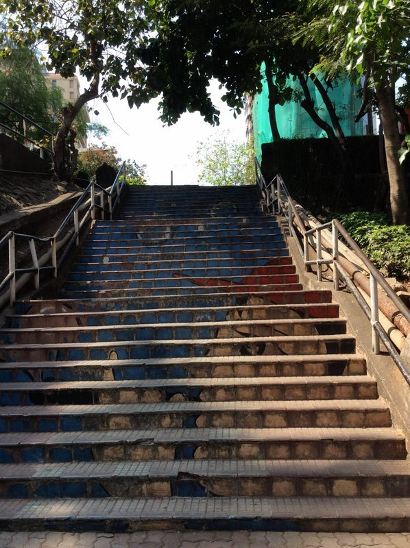 Bomanjee's Steps, Bandra, Hill Road, Mount Mary Road