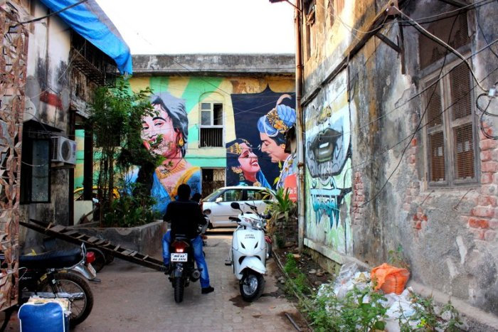 Bollywood Art Project, Bandra, Mumbai, Street Art, Chapel Road