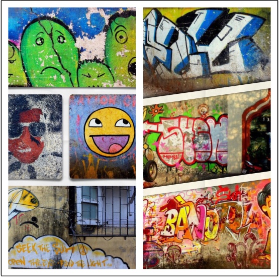 Street Art, Chapel Road, Bandra, Mumbai