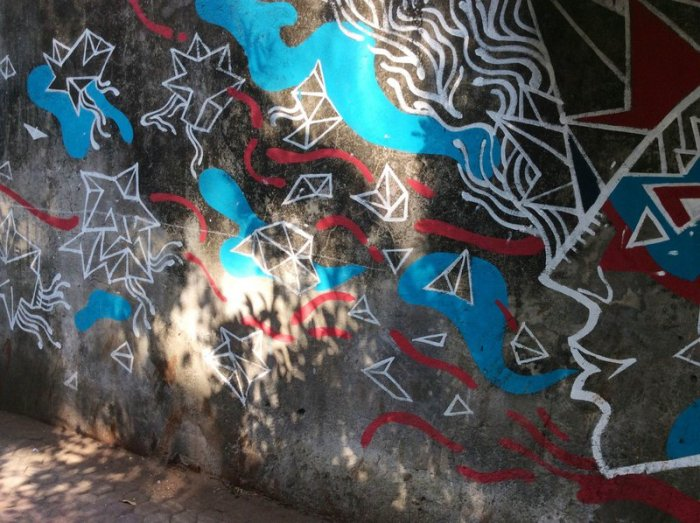 Nagrana Lane, Street Art, Graffiti Art, Bandra, Mumbai Ink Brush N Me