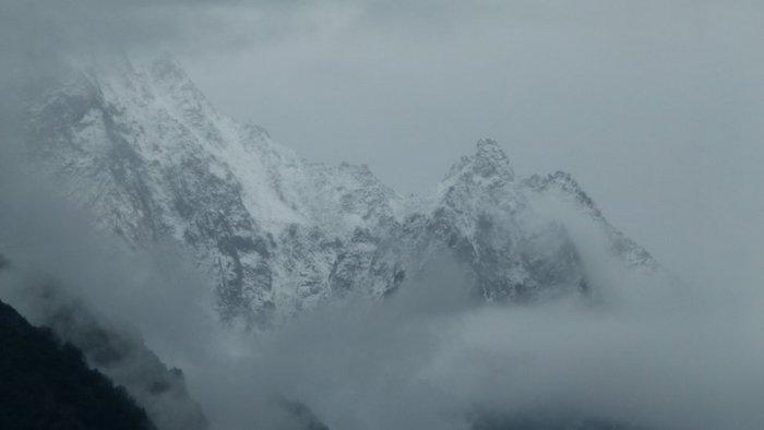 Sangla, Bad Weather, Kinnaur, Baspa Valley, Himachal Pradesh