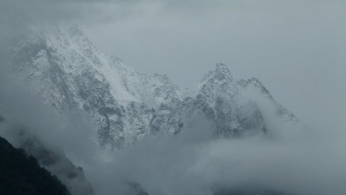 Sangla, Bad Weather, Kinnaur, Baspa Valley, Himachal Pradesh