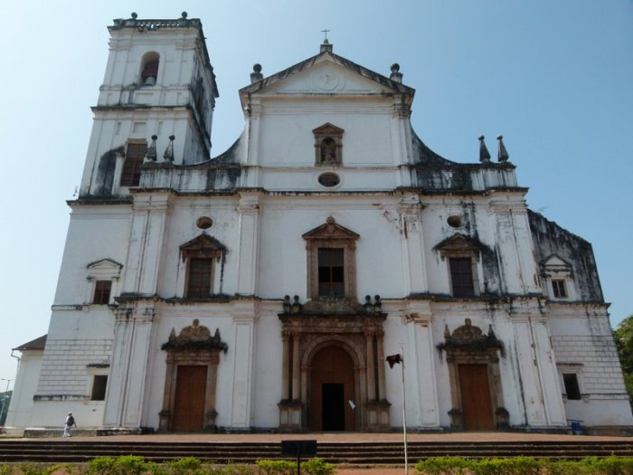 Goa, Old Goa, Travel. Se Cathedral, Indo-Portuguese church