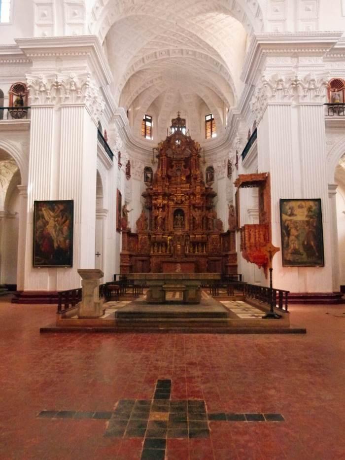 Old Goa, Church and Convent of St. Cajetan, Goa, Travel, Velha Goa, UNESCO World Heritage Site