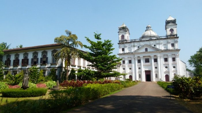 Old Goa, Church and Convent of St. Cajetan, Goa, Travel, Velha Goa, UNESCO World Heritage Site