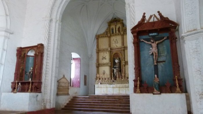 Old Goa, Church of Our Lady of the Rosary, Goa, Travel, Velha Goa, UNESCO World Heritage Site