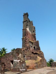 Old Goa, Tower of the Church of St. Augustine, Goa, Travel, Velha Goa, UNESCO World Heritage Site