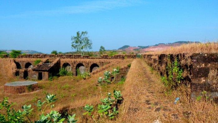 Aldona, Corjuem Fort, Noth Goa, Portuguese Fort