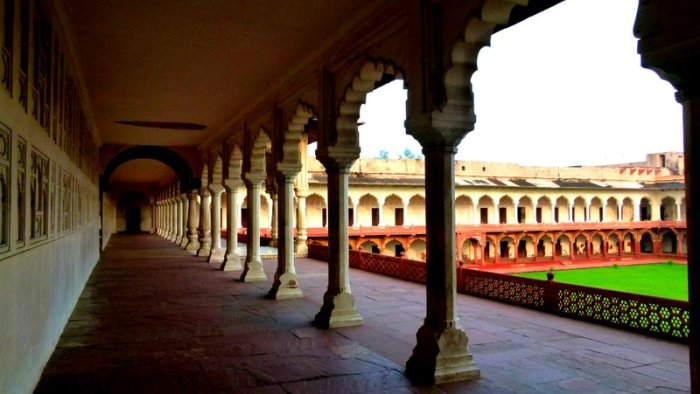 Agra Fort, UNESCO World Heritage Site, Travel, Red Fort of Agra, Macchli Bhavan