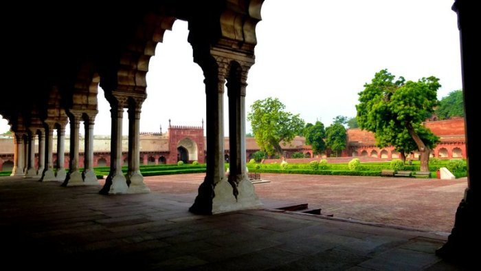 Agra Fort, UNESCO World Heritage Site, Travel, Red Fort of Agra, Diwan-e-aam