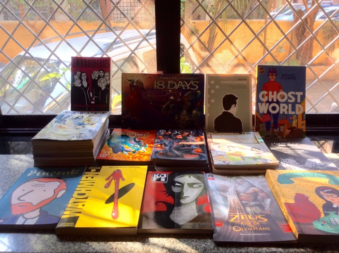 Graphic novels, Book collection