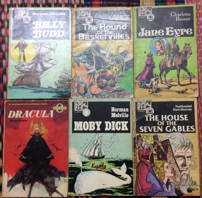 Graphic Novels, Illustrated Classics, bboks, Book Collection