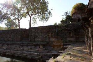 Lonar, Maharashtra, Stepwell, water tank, Ancient, Limbi Barav