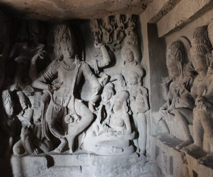 Ellora Caves, Sculptures, Indian Art, Aurangabad, UNESCO World Heritage Site