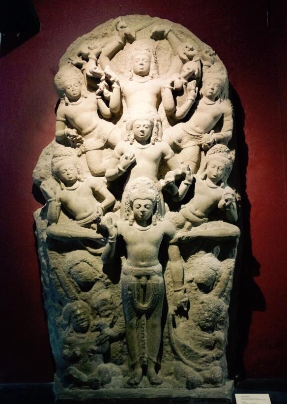 Mahadeva, Ashta Shiva, Parashiva, Sculpture Gallery, Relief, CSMVS, Museum Treasure, Chhatrapati Shivaji Maharaj Vastu Sangrahalaya