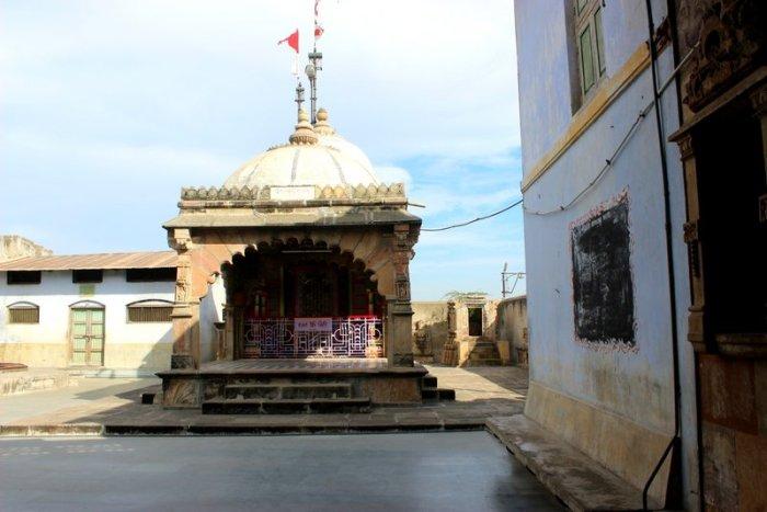 Kali idol, Amter Mata Temple, Vadnagar, Travel, Tantric