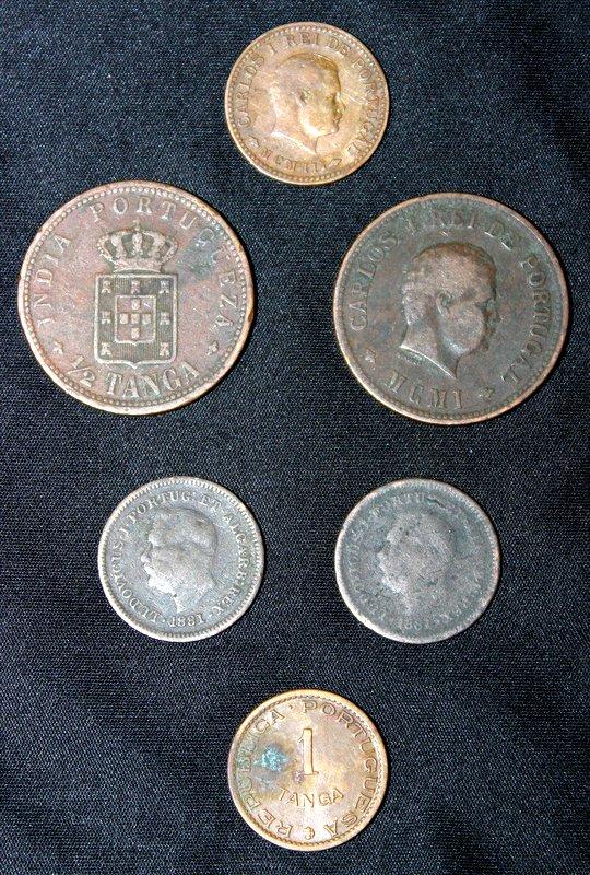 Box of coins, numistimatics, nostalgia
