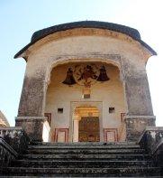 The steps leading to the Ram Dutt Goenka Chhatri.