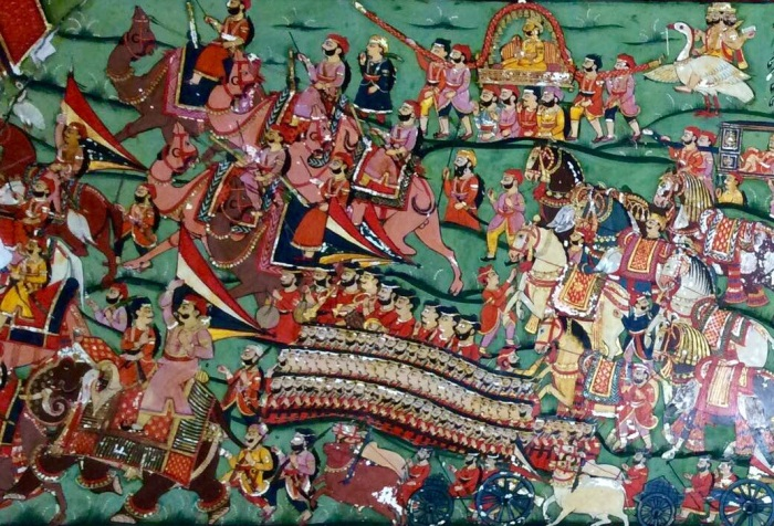 Mahansar, Mahensar, Painted Towns of Shekhawati, Fresco, Art Gallery, Painting, Heritage, Travel, Rajasthan