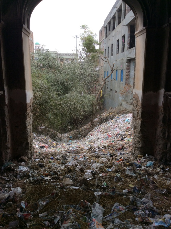 Hereitage, Well, Bawri, Garbage dump