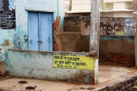 Graffiti, Nawalgarh, New Art, Morals, Gayatri Shaktipeeth
