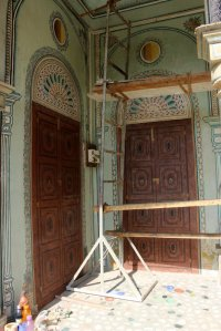Podar Haveli, Private House, Nawalgarh, Painter of Murals, Swarnkar