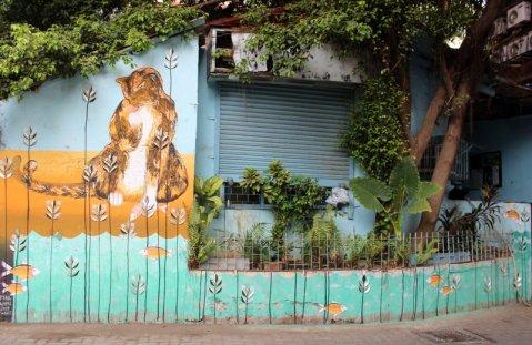 Bandra St+Art, Mumbai. Street Art