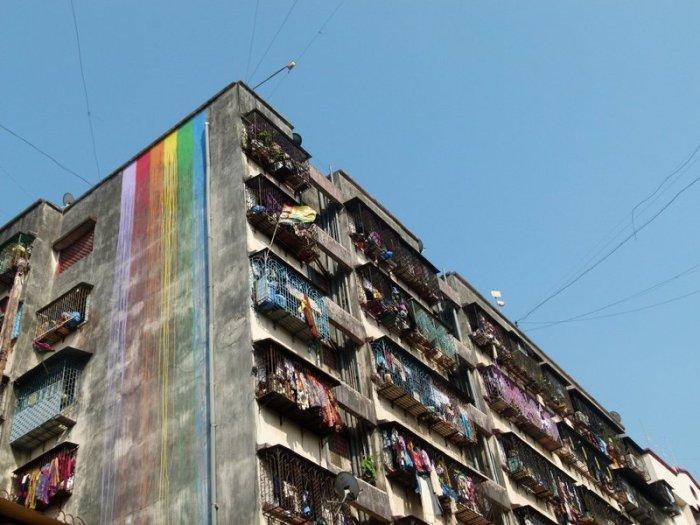 Dharavi St+Art, Mumbai. Street Art