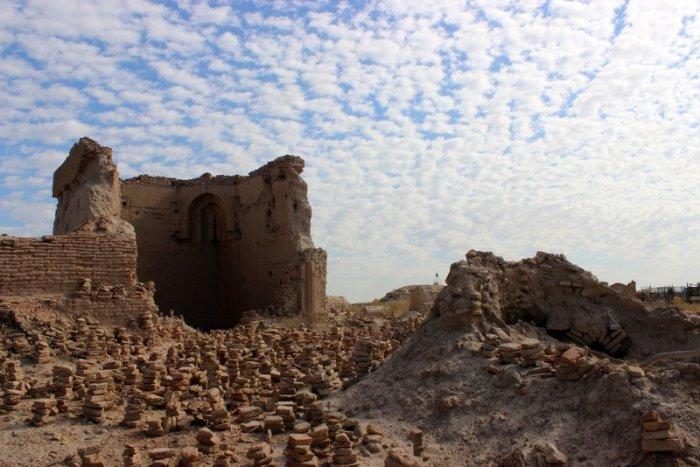Mizdahkan, Karakalpakstan, Uzbekistan, Necropolis, City of the Dead, Ancient burial site, travel, Central Asia, Culture